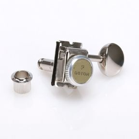 Gotoh SD91 Magnum Back Locking Traditional Kluson style Tuners Nickel  SD91-MG-T